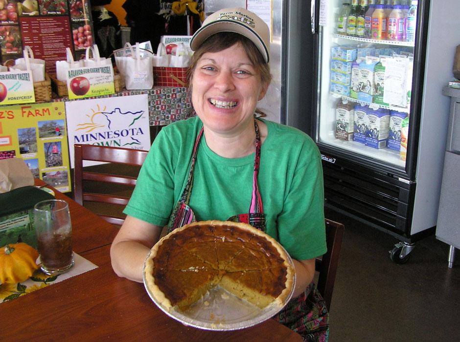 Chef Pat & Grandma Lena pies